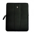 Ferrari Leather Case Modena for iPad 4, iPad 3, iPad 2, iPad - Black (FESLIPBL)